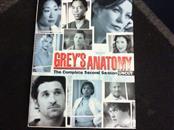 DVD GREY'S ANATOMY THE COMPLETE SECOND SEASON UNCUT